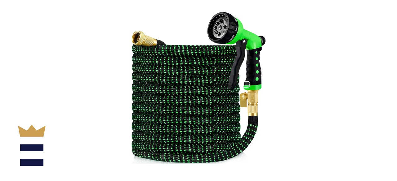 HBlife 150-Foot Expandable Garden Hose with Brass Fittings