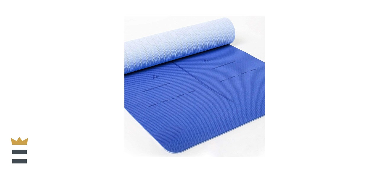 Heathyoga Eco Friendly 6mm Yoga Mat