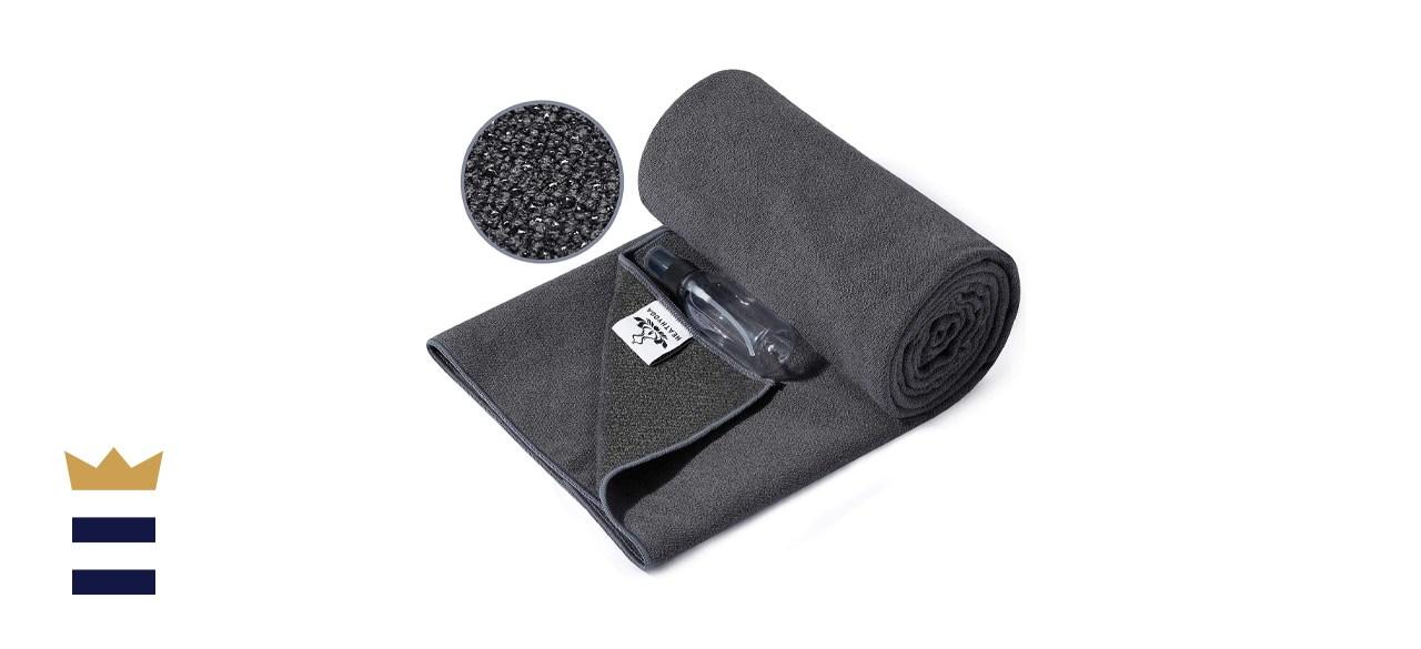 Heathyoga Nonslip Yoga Towel