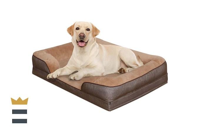 Heeyo Waterproof Orthopedic Dog Bed
