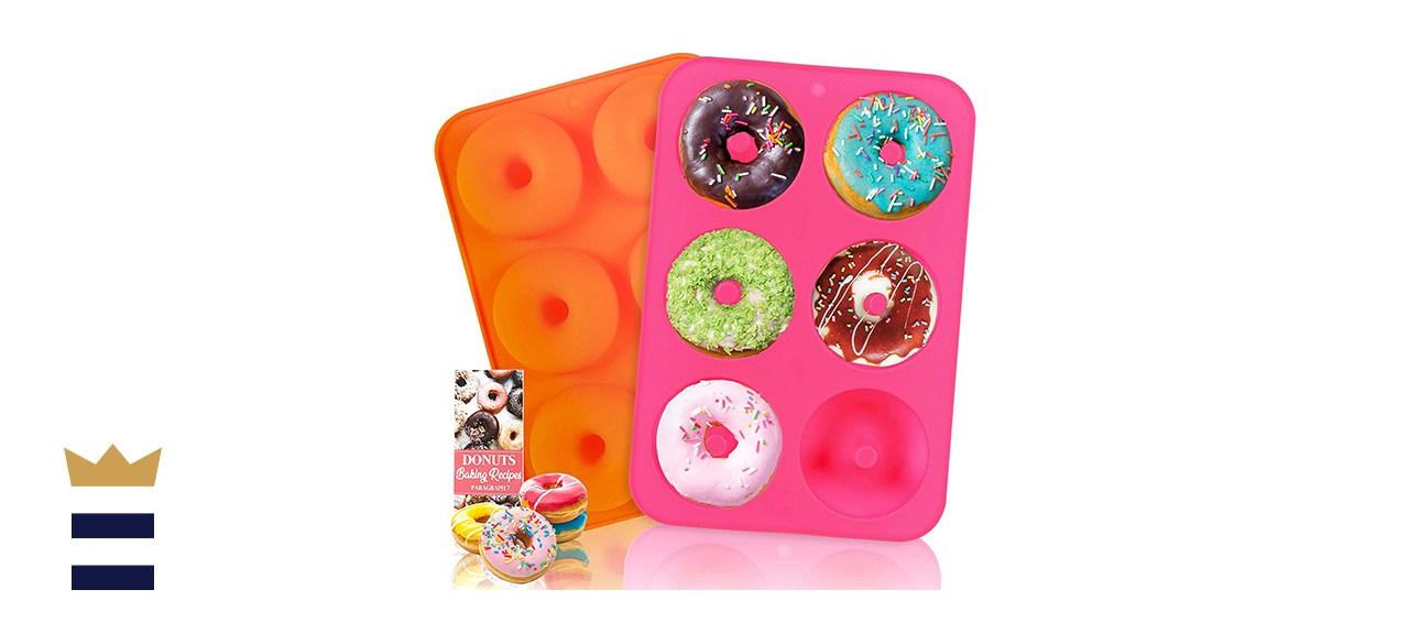 Hehali Silicone Donut Pans