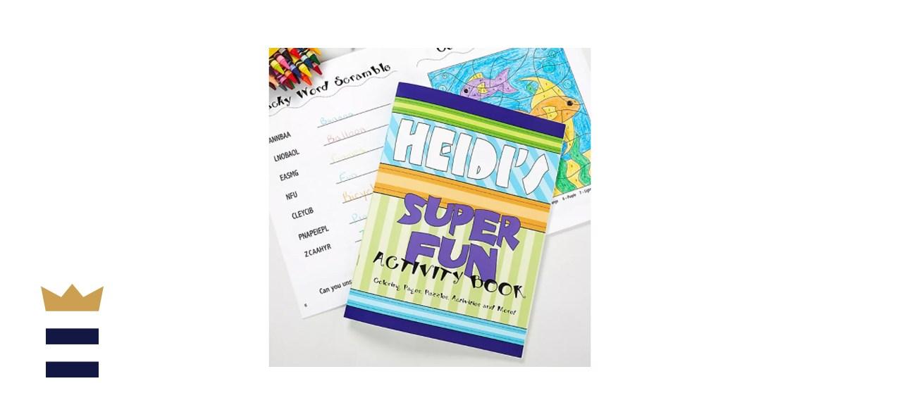 Heidi's Super Fun Coloring Activity Book & Crayon Set
