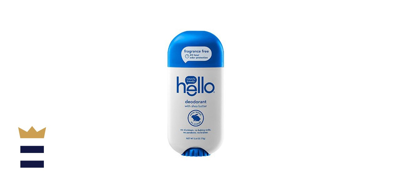 Hello Fragrance Free Deodorant with Shea Butter