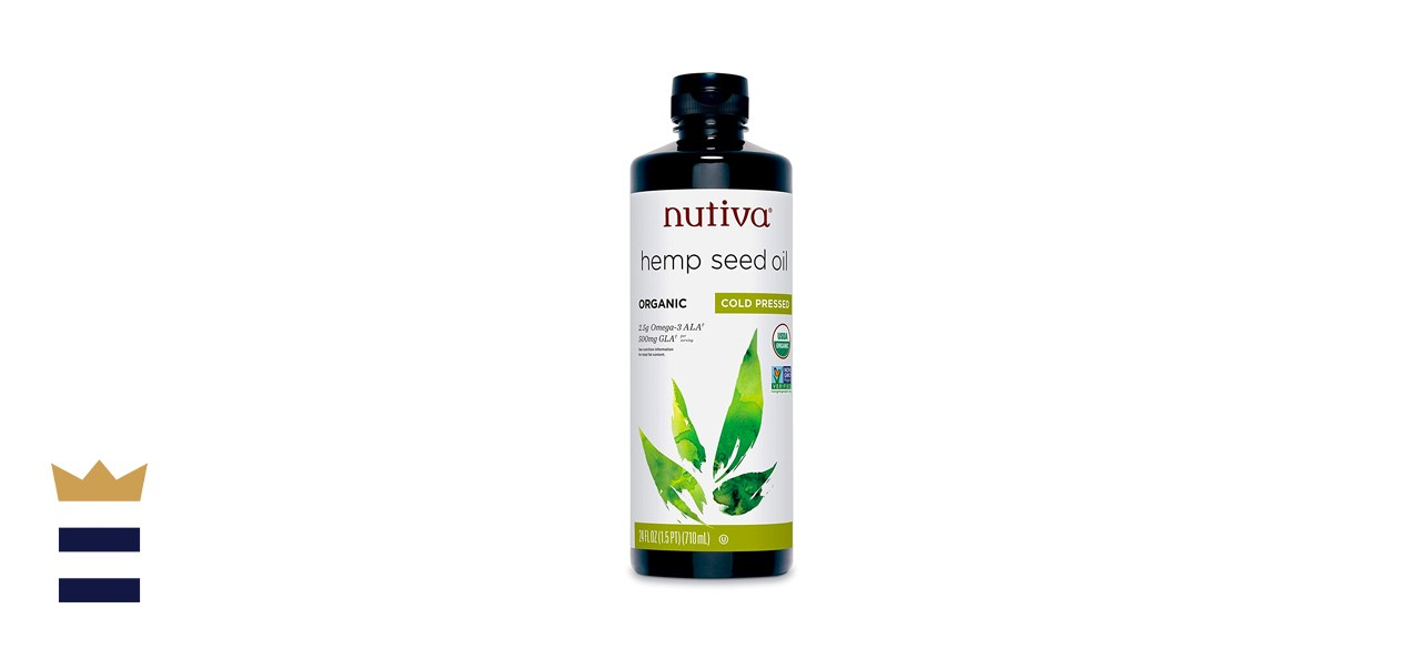 Nutiva Organic Cold-Pressed Unrefined Hemp Oil