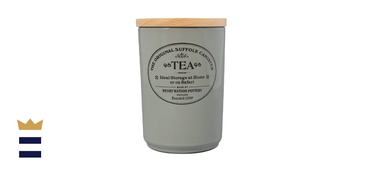 Henry Watson Large Airtight Tea Canister