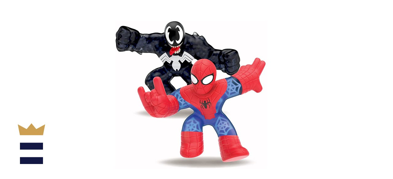 """""""Heroes of Goo Jit Zu"""" Licensed Marvel Versus Pack - Spider-Man vs Venom"""