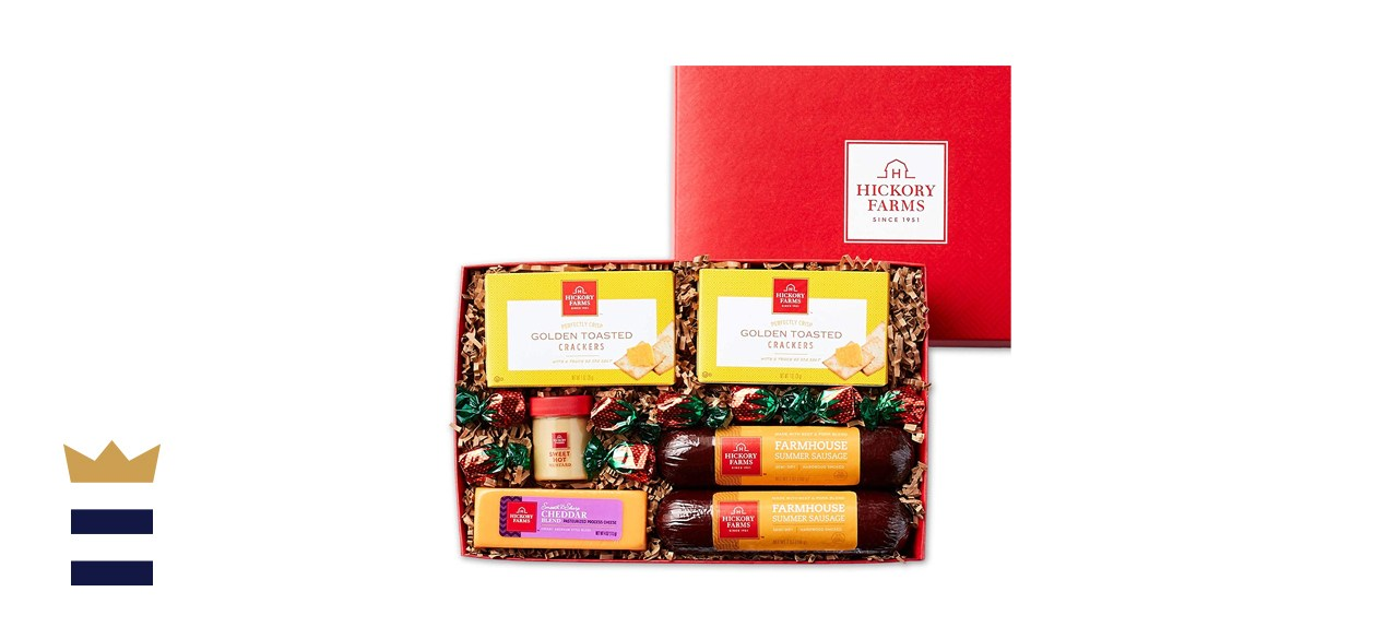 Hickory Farms Farmhouse Sausage & Cheese Medium Gift Box