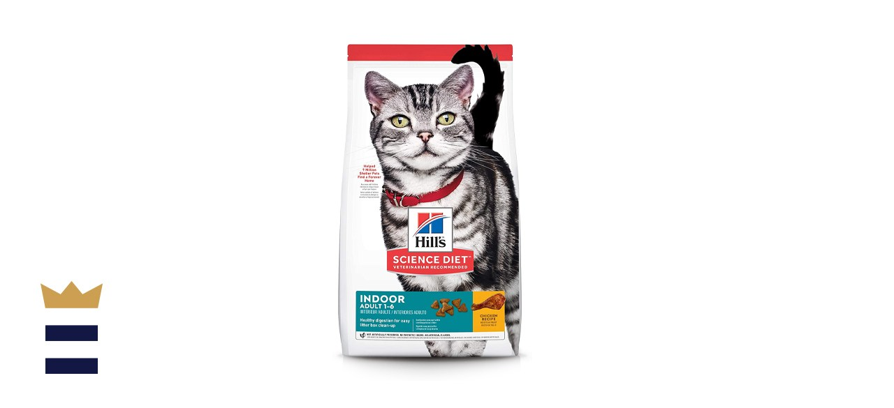 Hill's Science Diet Cat Food for Adult Indoor Cats