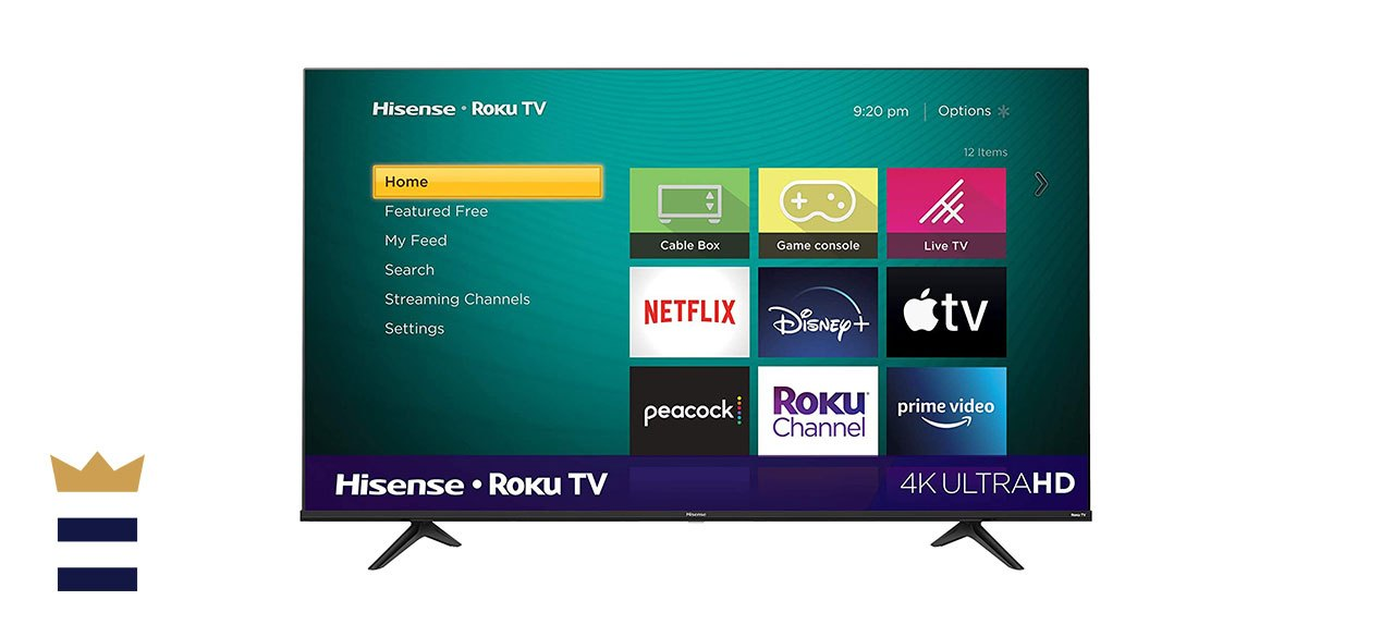 Hisense 55-Inch Ultra HD Smart TV with Roku