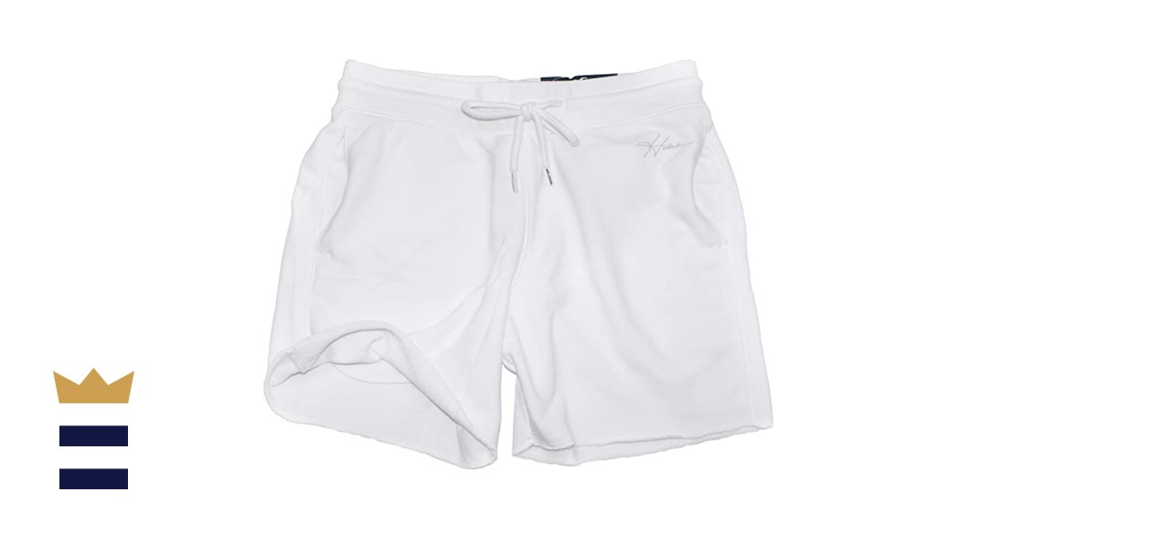 Hollister Mens Classic Terry Jogger Shorts
