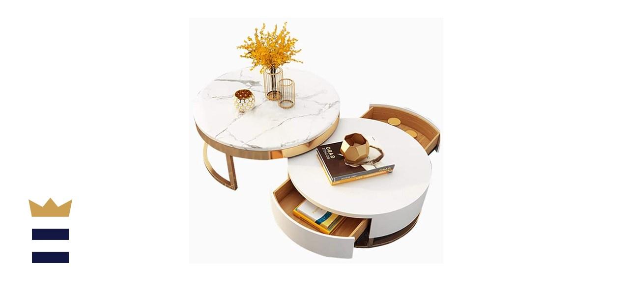 Homary nesting coffee table set
