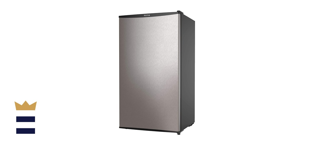 hOmeLabs 3.3 Cubic Foot Mini Fridge with Small Freezer