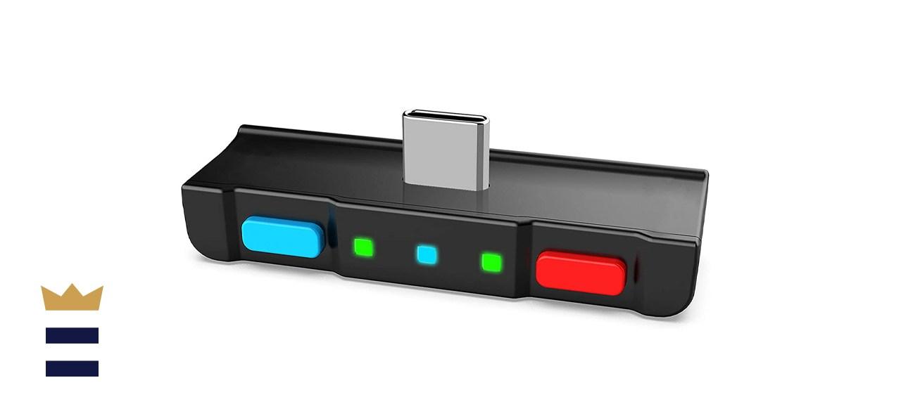 HomeSpot Low-Latency Audio Transmitting Nintendo Switch Bluetooth Adapter