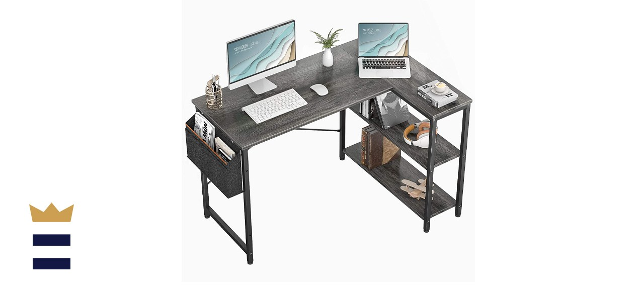 Homieasy Small L Shaped Computer Desk