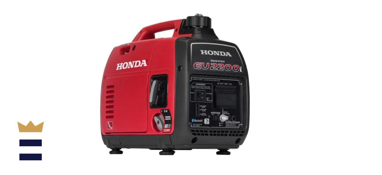 Honda 2200-Watt Recoil Start Gasoline Powered Inverter Generator