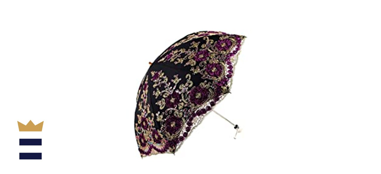 Honeystore Flower Lace Parasols for Wedding Party