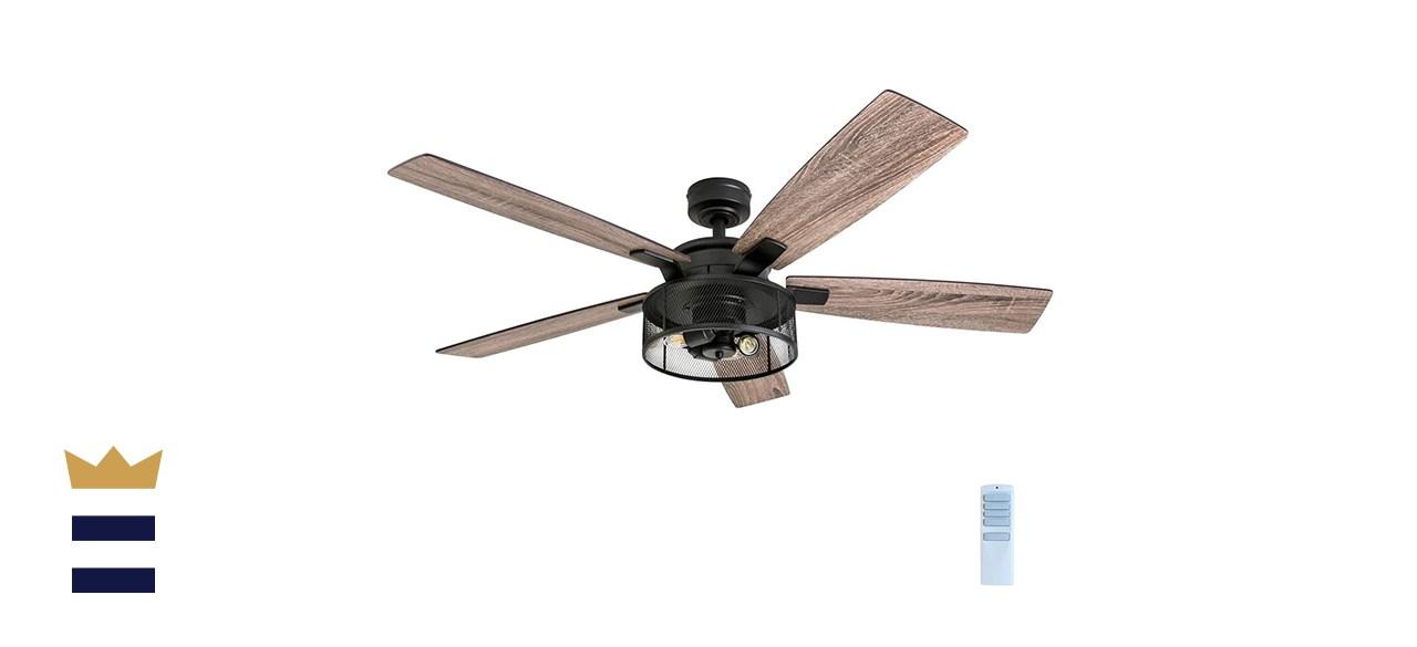 Honeywell Ceiling Fans 52-Inch Carnegie LED Ceiling Fan