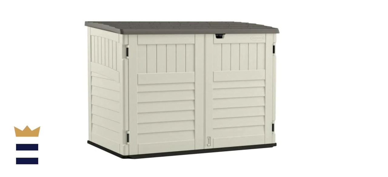 horizontal sheds