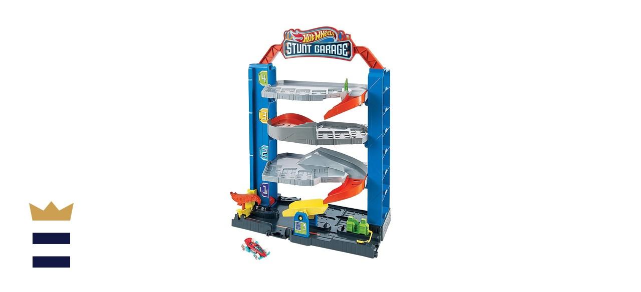 Hot Wheels City Stunt Garage Play Set