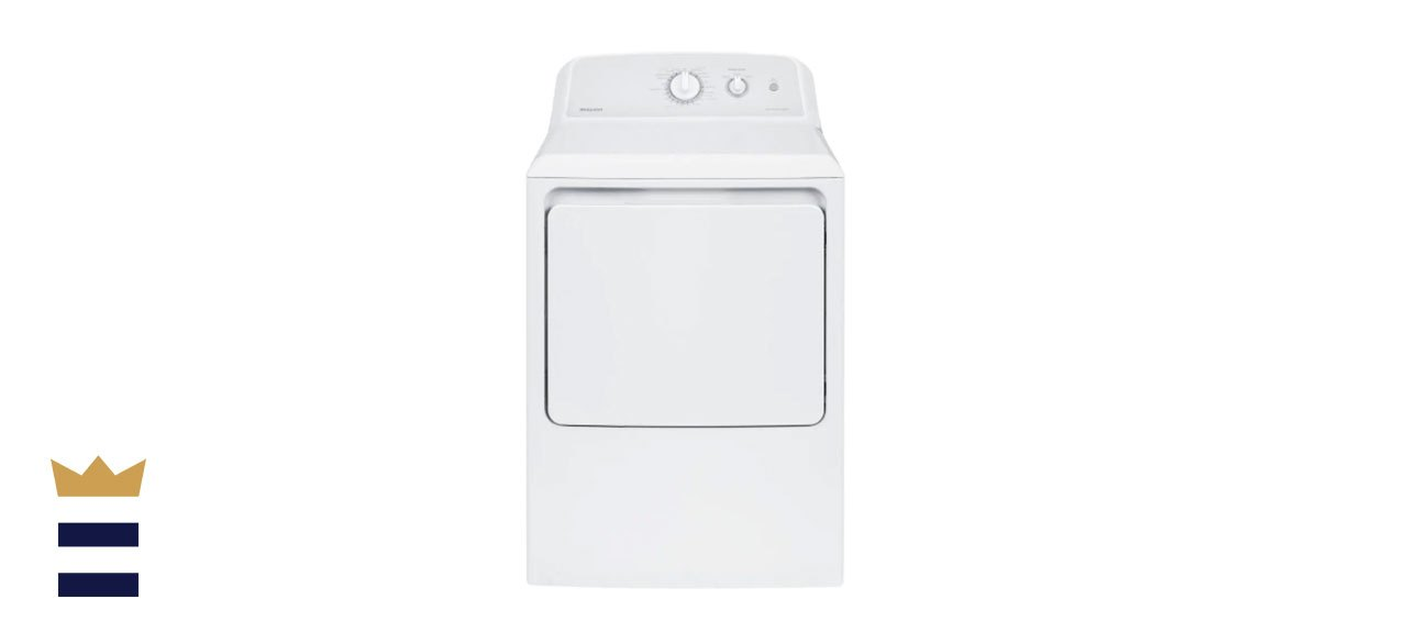 Hotpoint6.2 cu. ft. 240-Volt White Electric Vented Dryer