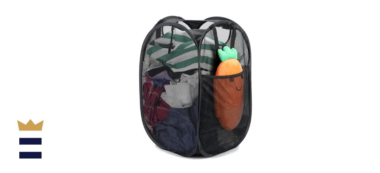HOUSE AGAIN Mesh Laundry Basket
