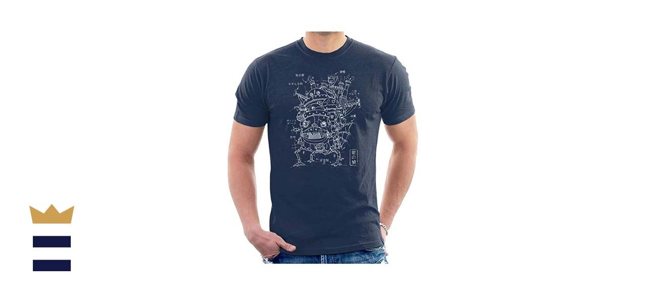 Howl's Moving Castle Blueprint T-Shirt