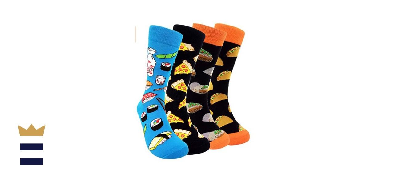 HSELL Fun Novelty Patterned Socks