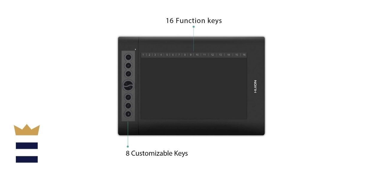 Huion's H610PRO V2 Graphics Drawing Tablet