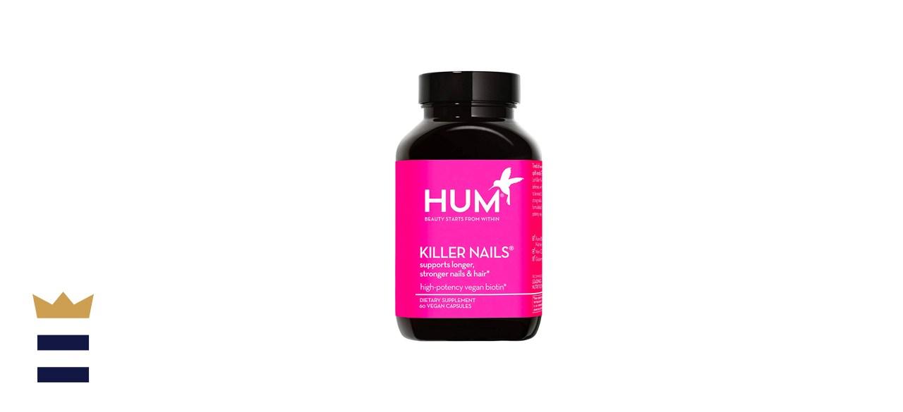 HUM Killer Nails High-Potency Vegan Biotin Capsules