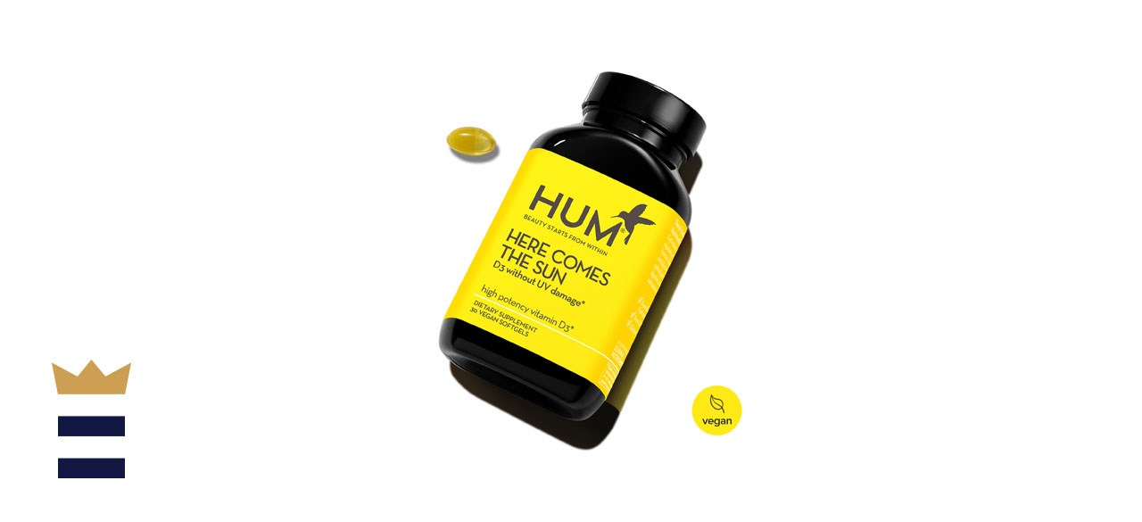 HUM Nutrition Here Comes The Sun High Potency Vitamin D3 2000 IU