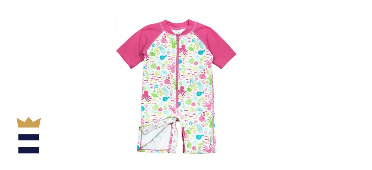 i play by green sprouts One-Piece Swim Sunsuit