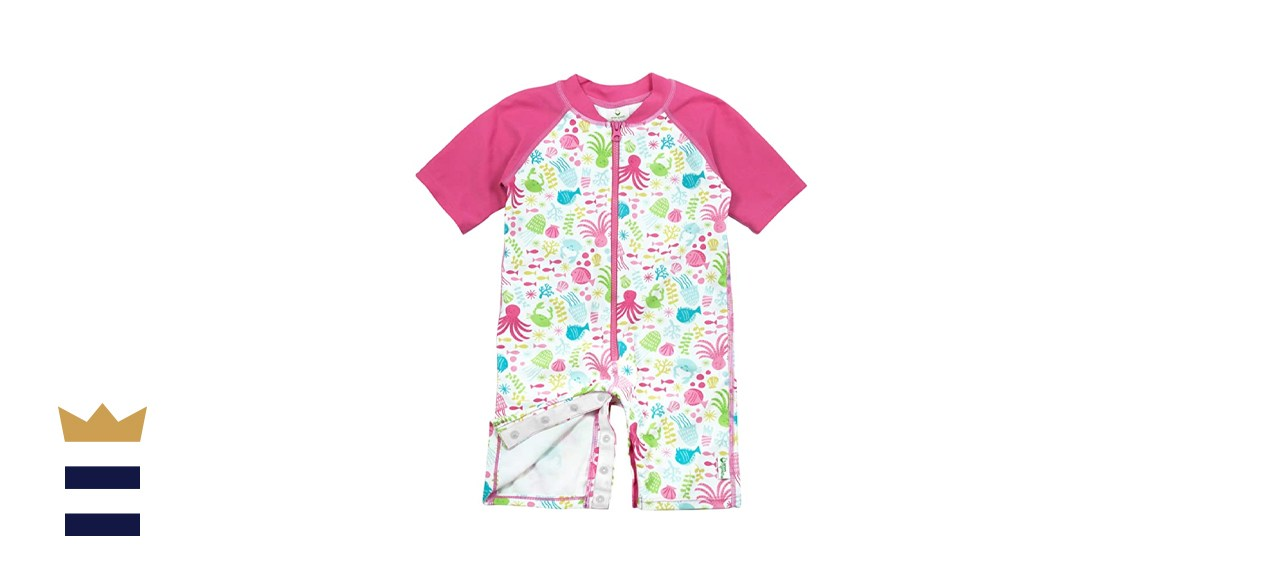 i play. by green sprouts One-Piece Swim Sunsuit