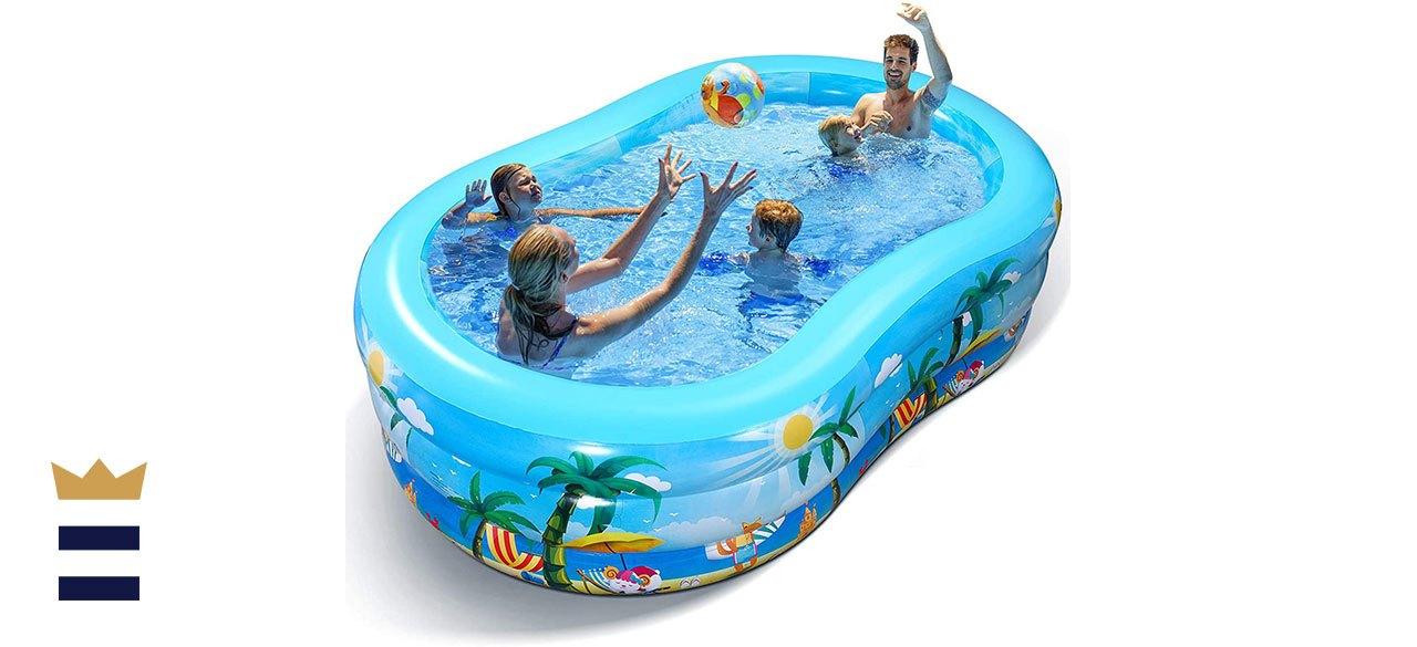 iBaseToy StoreInflatable Swimming Pool