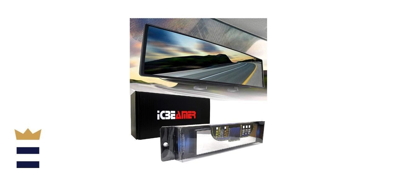 ICBEAMER 10.6 Inch Clip-on Rearview Mirror