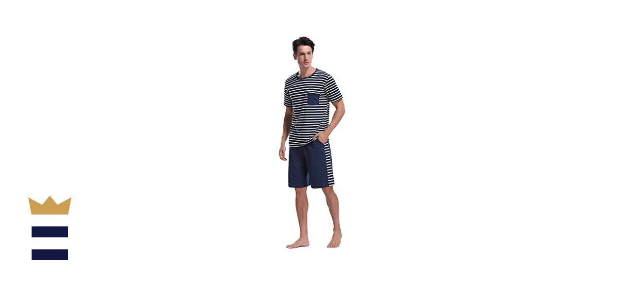 iClosam Men's Summer Pajama Set