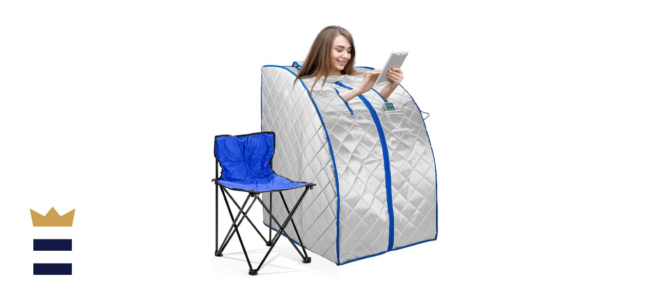 IdealSauna Infrared IR Negative Ion Portable Indoor Personal Spa Sauna