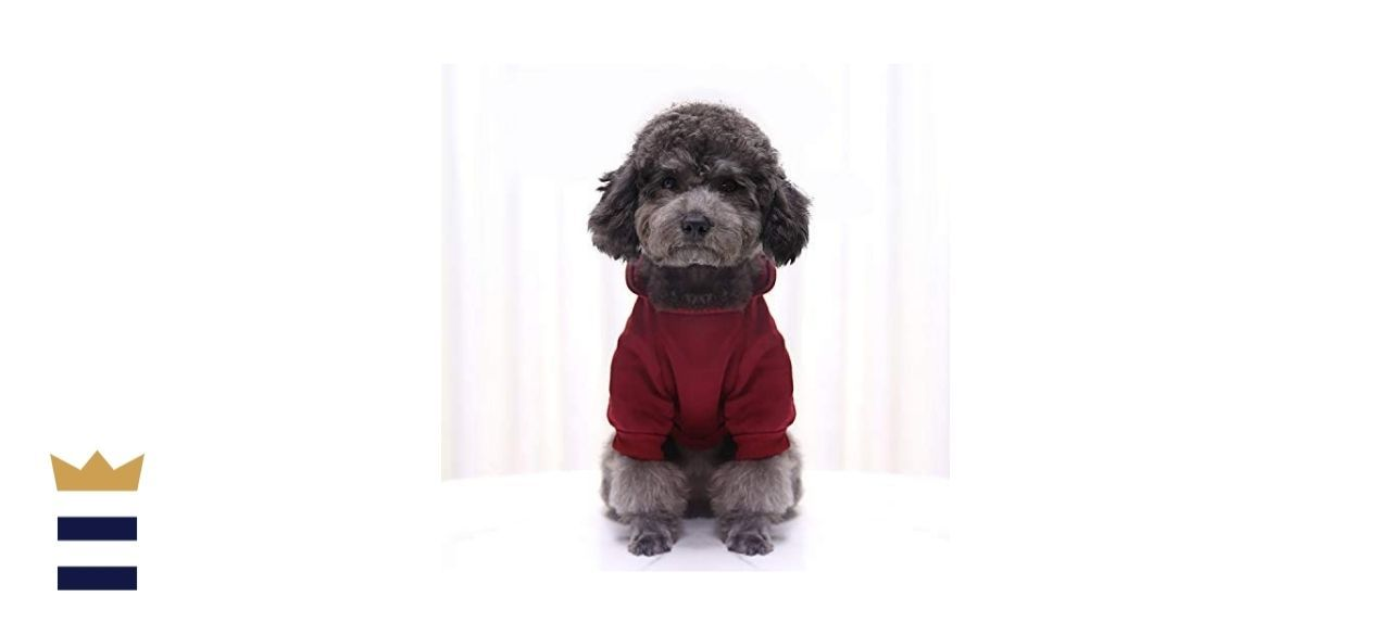 Idepet Soft Cotton Hoodie for Dogs