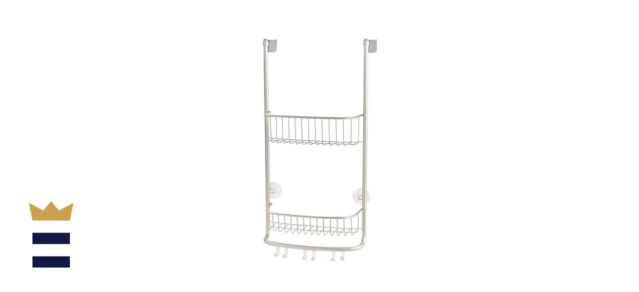 iDesign's Forma Over-the-Door Shower Caddy