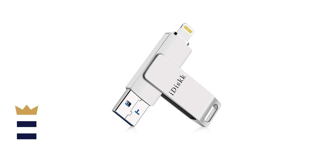 iDiskk Apple Certified 128 GB iPad USB 3.0