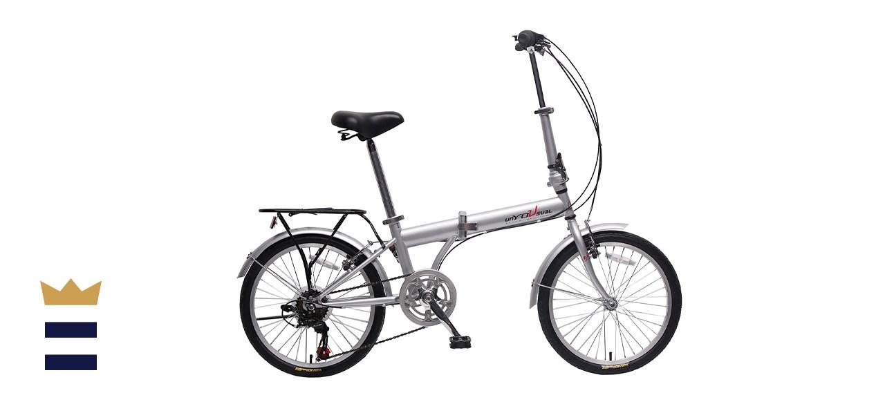 "IDS Home unYOUsual U Transformer 20"" Folding City Bike"