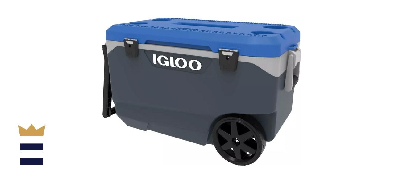 Igloo Latitude 90-Quart Rolling Cooler