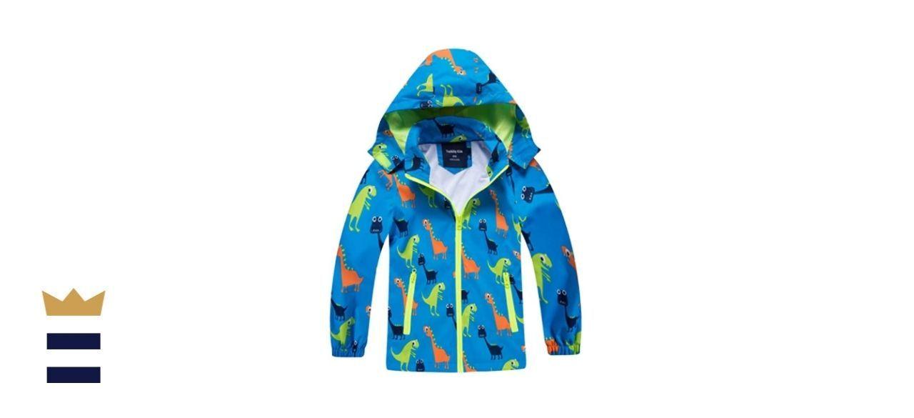 IjnUhb Waterproof Hooded Jacket