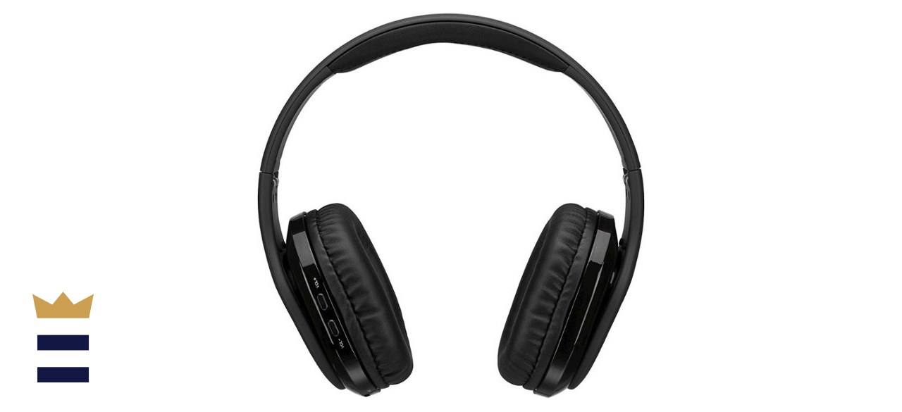 iLive - Platinum Wireless Noise Cancelling Over-the-Ear Headphones