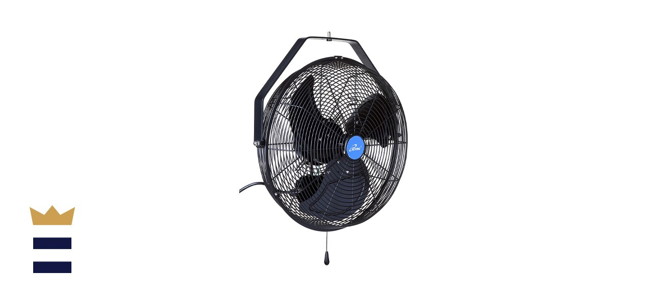 iLIVING Wall Mounted Variable 18 Inches Speed Indoor/Outdoor Weatherproof Fan