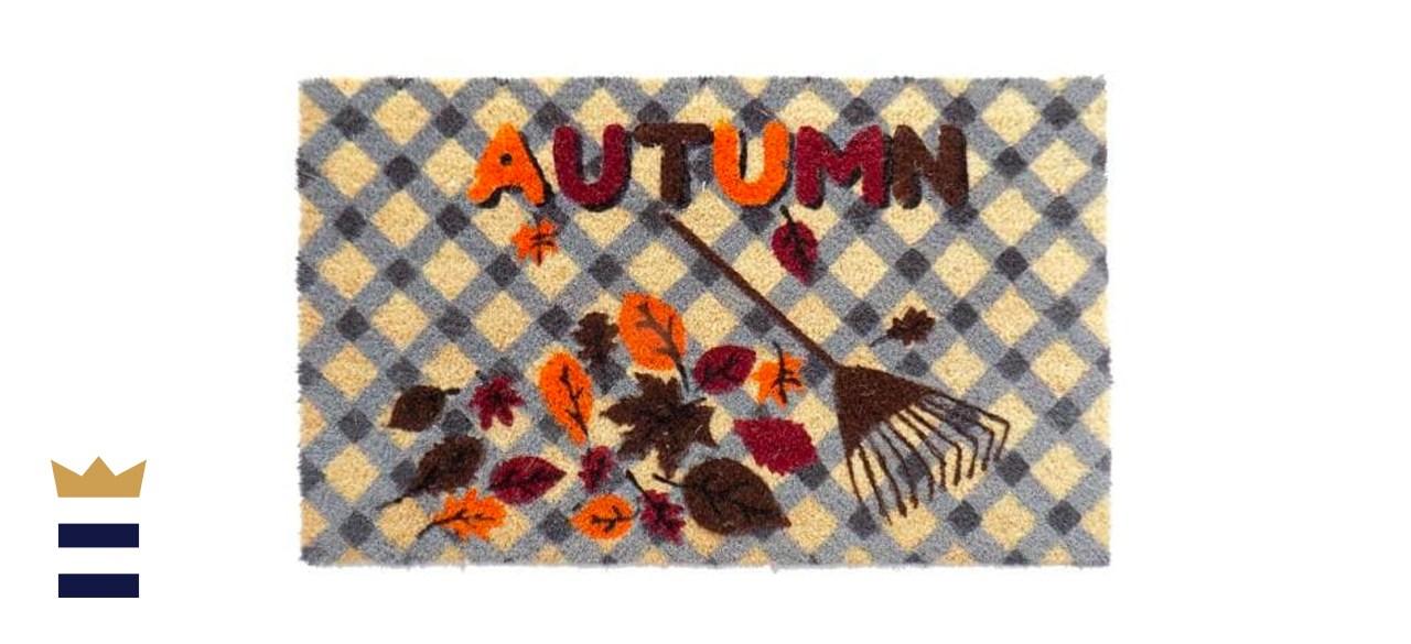"Imports Decor Autumn Rubber-Backed Door Mat 30"" x 18"""