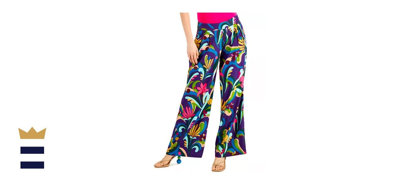 INC International Concepts High-Rise Wide-Leg Pants