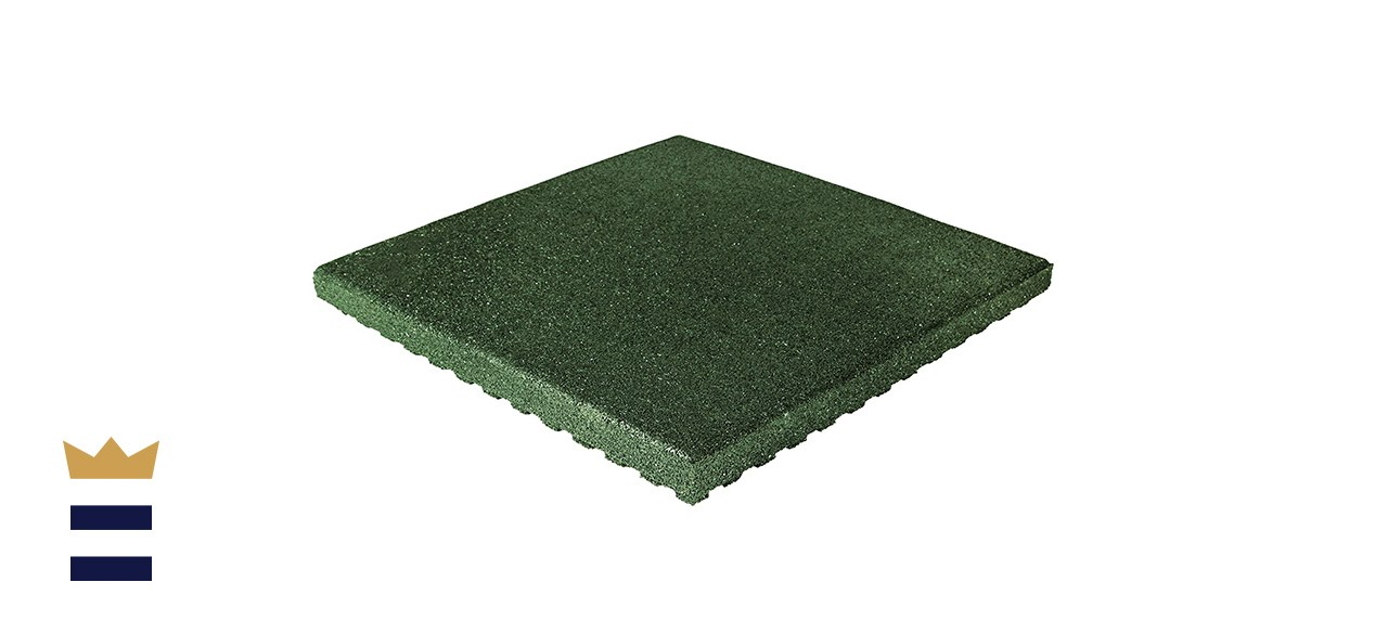 IncStores 2.5 Inch Thick Jamboree Playground Surface Outdoor Tile Flooring