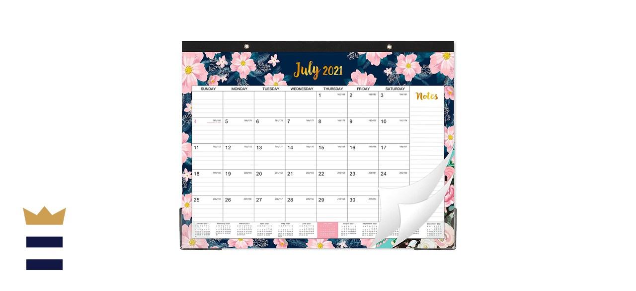 Indeme 18 Month Desk Wall Calendar