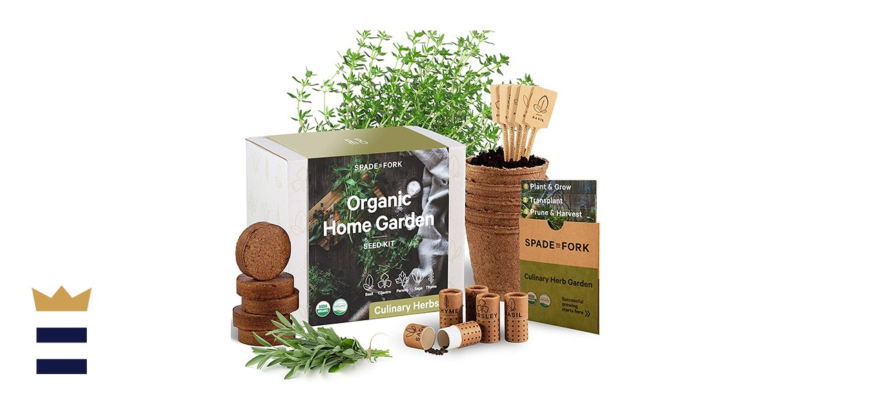 Spade to Fork Indoor Herb Garden Starter Kit