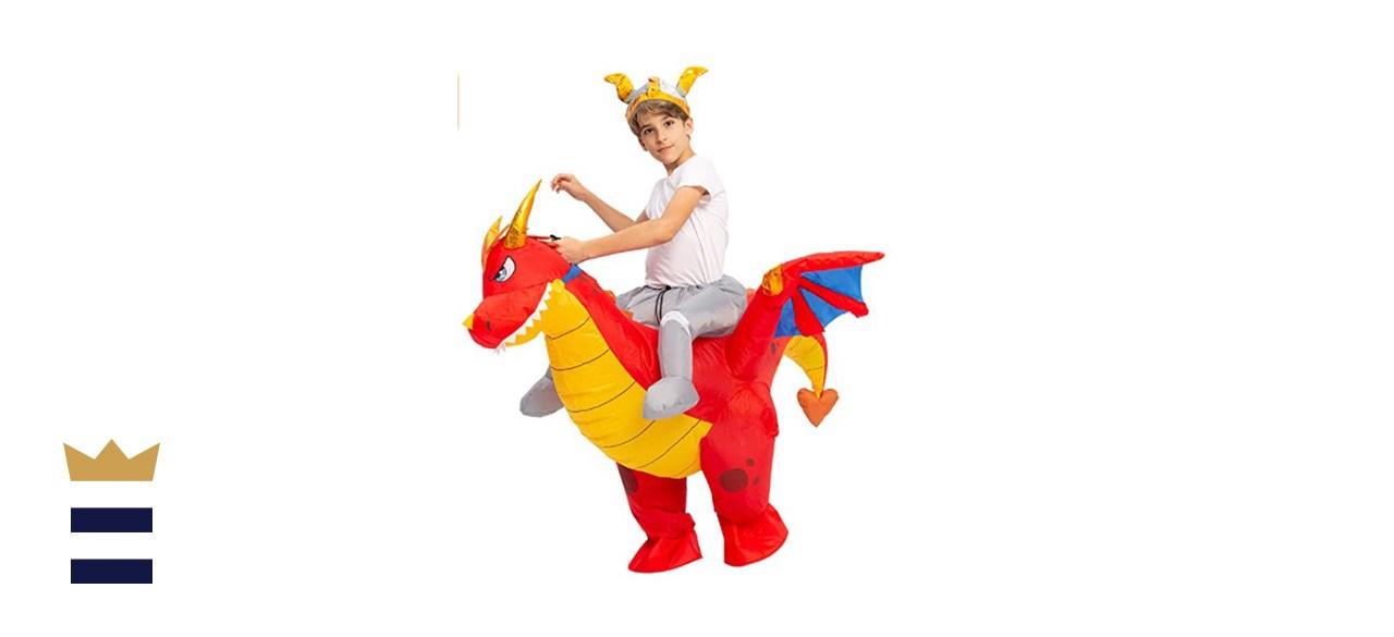 Inflatable Costume Dragon